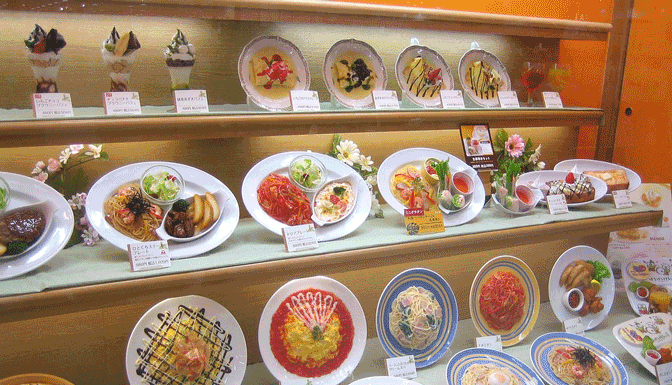 japanese fake plastic food samples